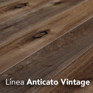 Piso de madera Línea Anticato Vintage