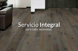 Servicio integral en colocación de pisos de madera
