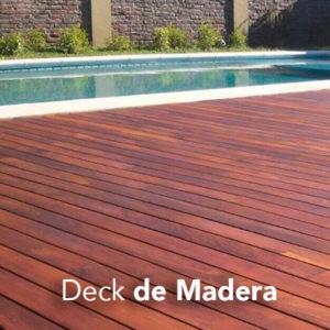 Piso de madera Deck