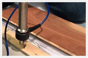 Toma de humedad para pisos de madera