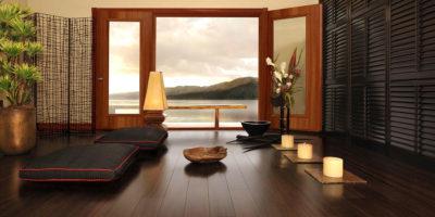 Decoración y pisos de madera