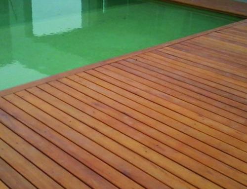 ¿Cómo decorar el exterior con pisos de madera?